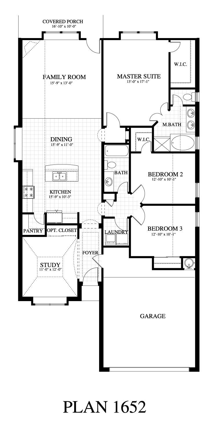 Plan 1652b saratoga homes austin for Texas home builders floor plans