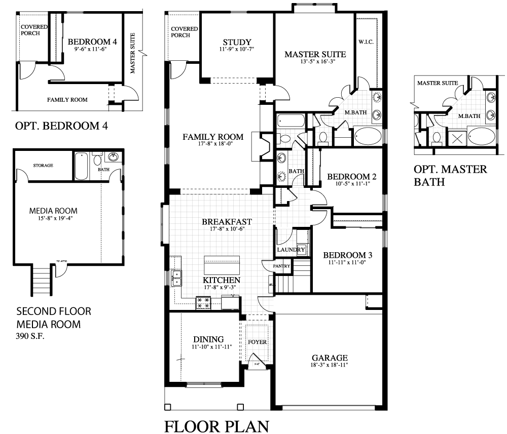 Plan 2012c mr saratoga homes austin for Austin home plans