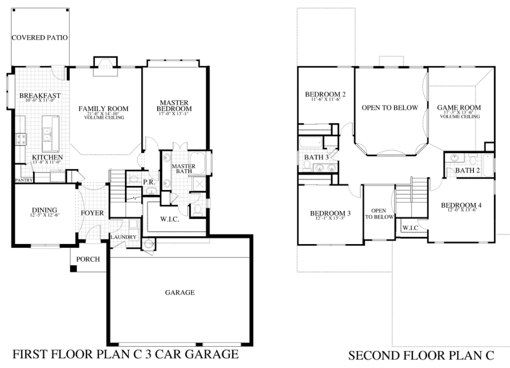 Plan 2518c 3cg saratoga homes austin for Saratoga homes floor plans