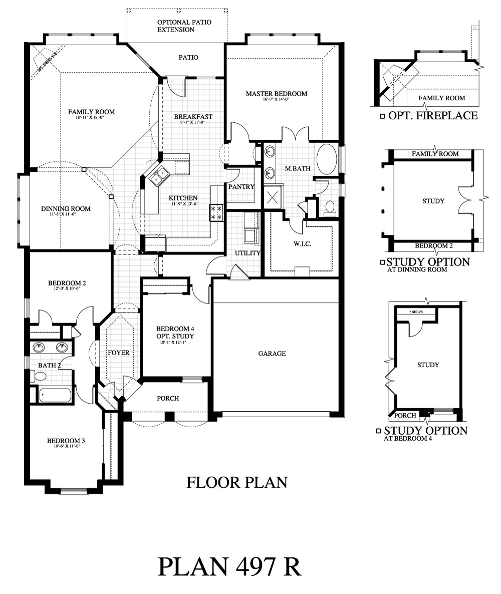 Plan 497c Saratoga Homes Austin