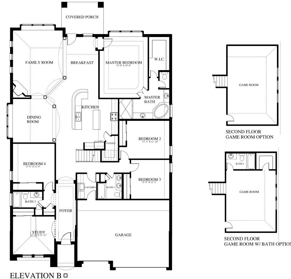 Plan 506b Saratoga Homes Austin